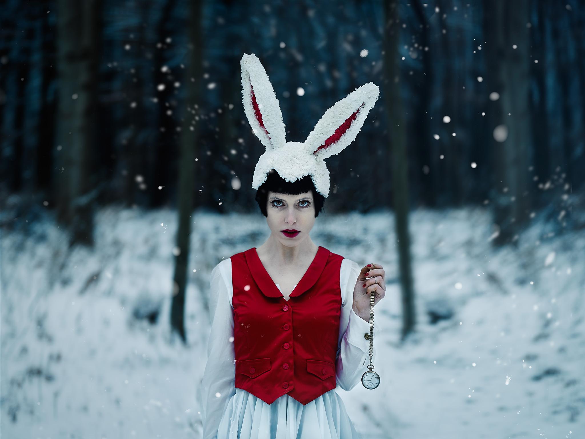 Follow the white Rabbit...